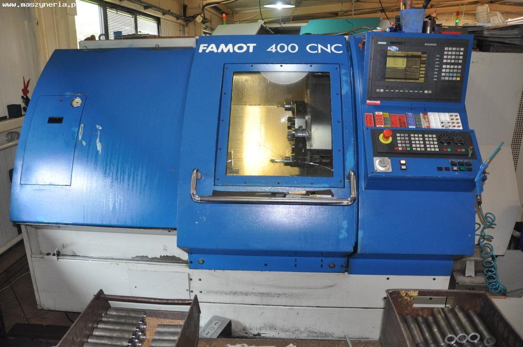 Tokarka CNC FAMOT Pleszew 400 CNC