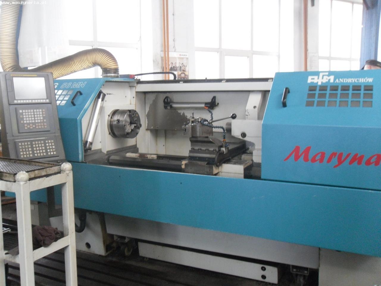 Tokarka CNC MARYNA TUG 56 MN, 2009 rok produkcji